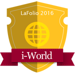 LaFolio i-World 2016 badge