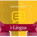 LaFolio i-Lingua 2016 badge
